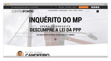 Criação de Site - Contraponto Nélson Itaberá