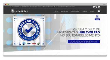 Criação de Site - Nexclean Distribuidora